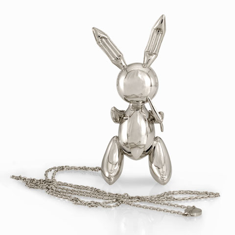 Rabbit Necklace, Jeff Koons